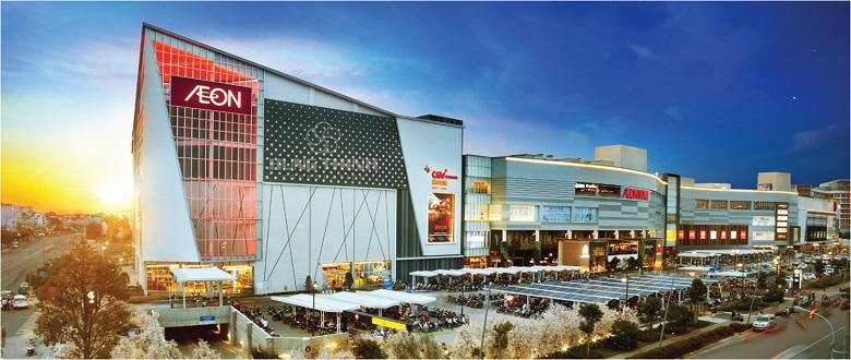 Siêu thị Aeon Mall căn hộ Moonlight Park view bình tân