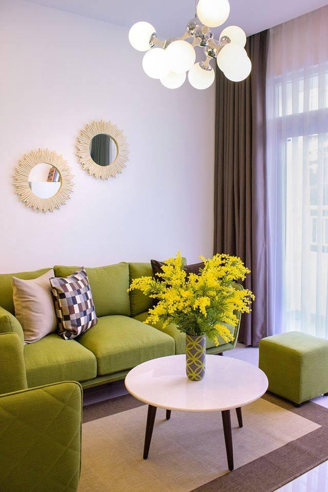 phòng khách căn hộ lavita garden thủ đức