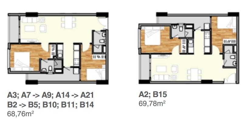 thiết kế căn hộ mẫu Lavitagarden thủ đức