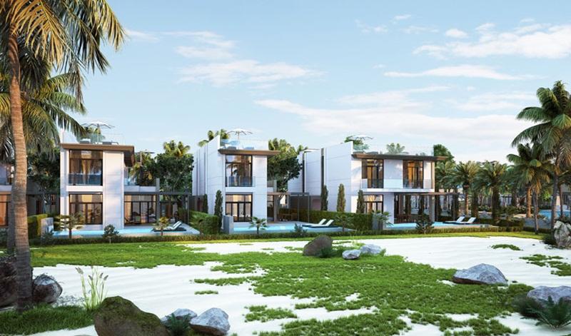 Mẫu biệt thự C1-C2 Cam Ranh Mystery Villas
