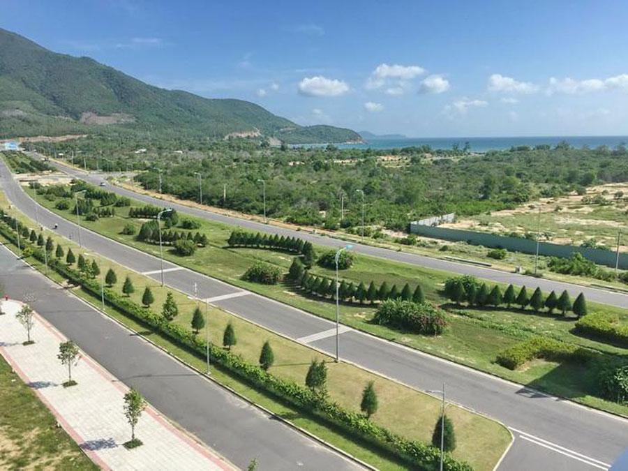 Mặt tiền Nguyễn Tất Thành dự án Goldenbay Bãi Dài Cam Ranh