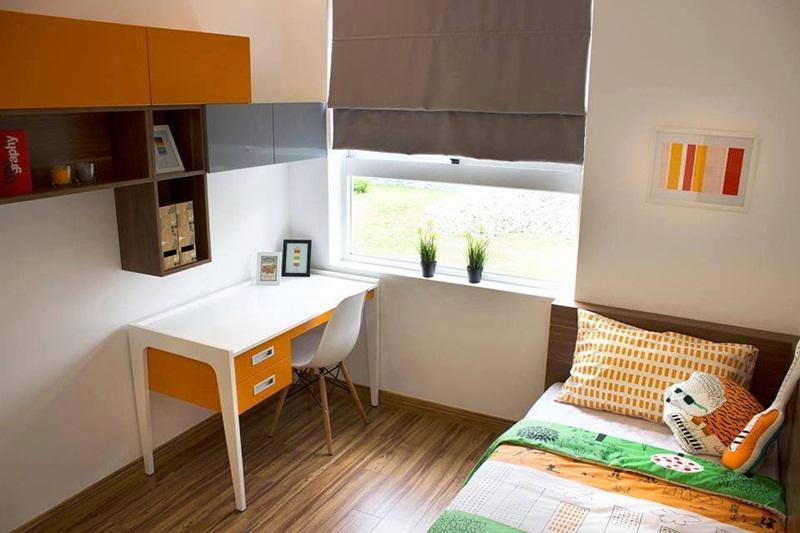 Phòng ngủ 2 căn hộ 9 view quận 9