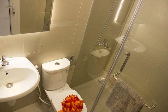 Phòng vệ sinh căn hộ 9 view quận 9