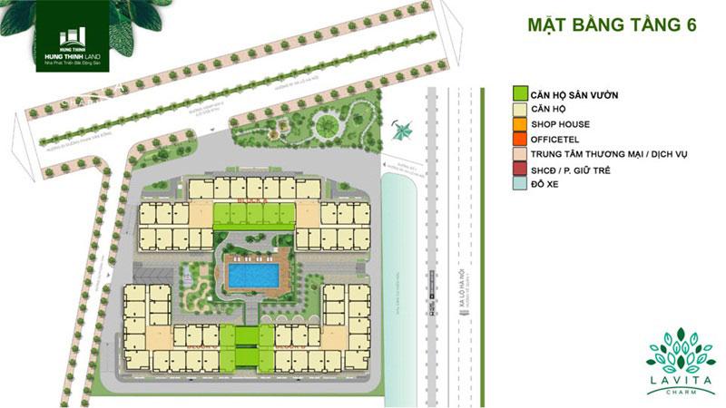 Dự án căn hộ sân vườn Lavita Charm thủ đức tầng 1a