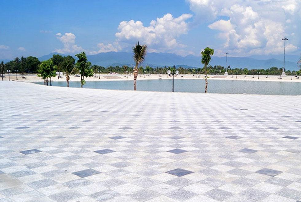 đất nền dự án goldenbay cam ranh - Hồ Khu D16
