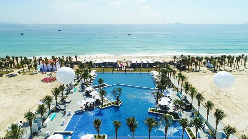 Hình ảnh thực tế hồ bơi Cam Ranh Mystery Villas