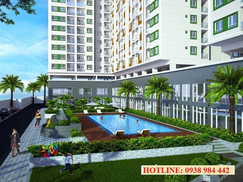 Hô bơi căn hộ Melody Residences