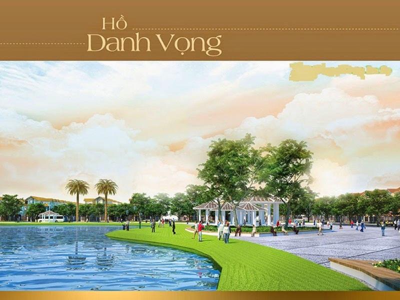 Hồ Danh Vọng Khu đô thị dự án Goldenbay Bãi Dài Cam Ranh