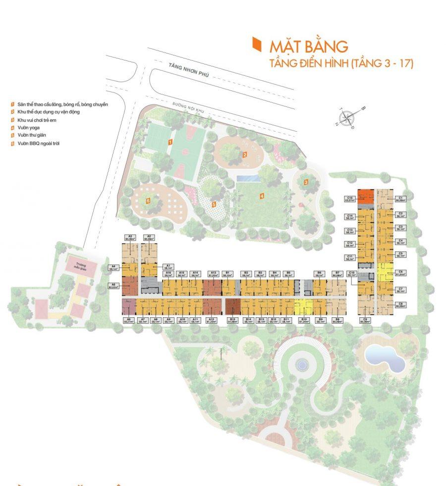 Quy hoạch tổng thể căn hộ 9 view quận 9