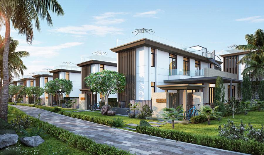 Mẫu Biệt Thự Cam Ranh Mystery Villas B1-B2-A1-A2