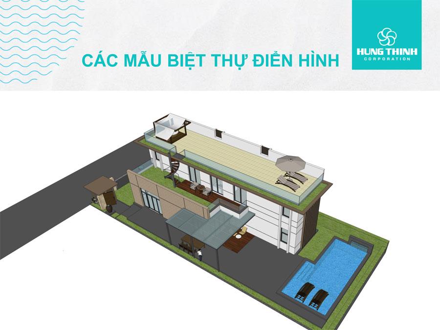Mẫu biệt thự Cam Ranh Mystery Villas 1