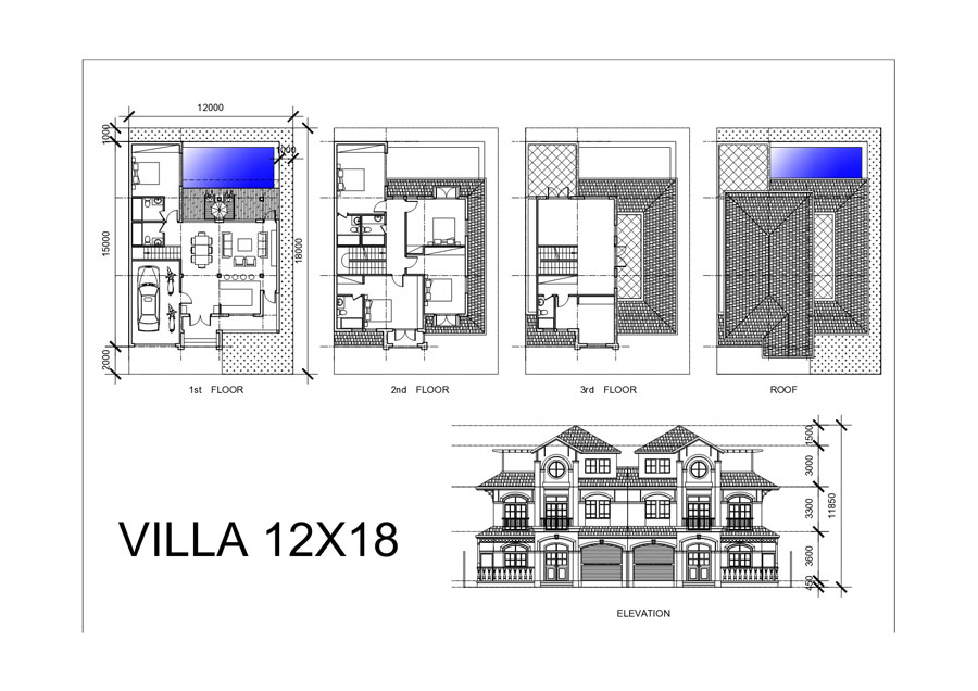 Thiêt kế dự án Goldenbay Bãi Dài Cam Ranh xây dựng 12x18