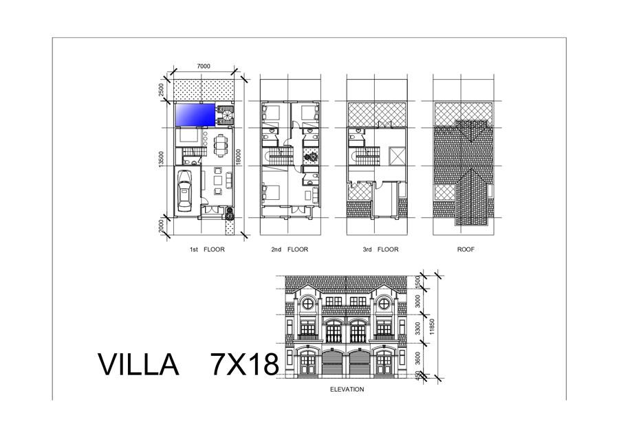 Mẫu thiết kế dự án Goldenbay Bãi Dài Cam Ranh xây dựng 7x18