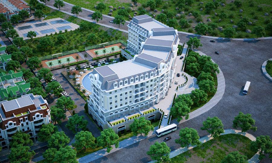 Khách san condotel dự án Goldenbay Bãi Dài Cam Ranh