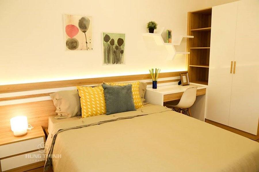 Không gian phòng ngủ căn hộ Moonlight Boulevard