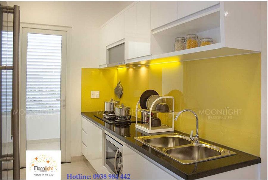 Phòng bếp căn hô moonlight residences