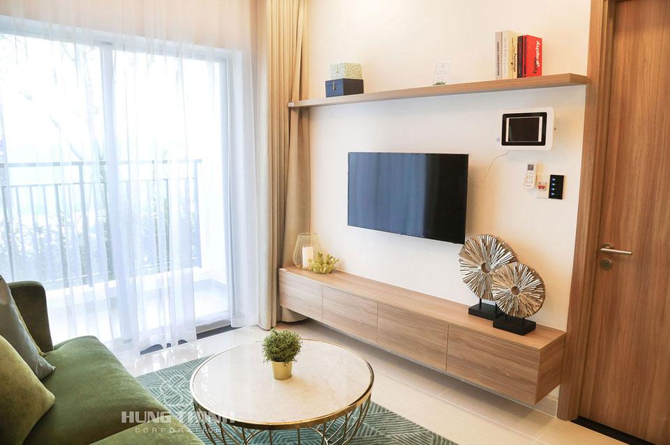 Phòng khách căn hộ mẫu lavita Charm thủ đức