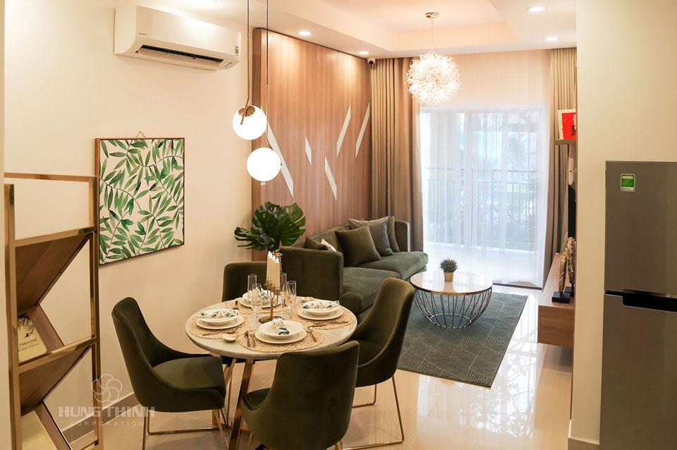 Phòng khách căn hộ lavita charm thủ đức