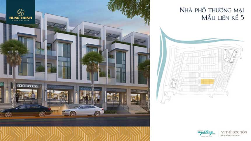 Mẫu thiết kế dự án Saigon Mysetry villas