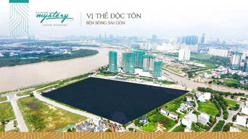 tổng thể đất nền Saigon mystery villas