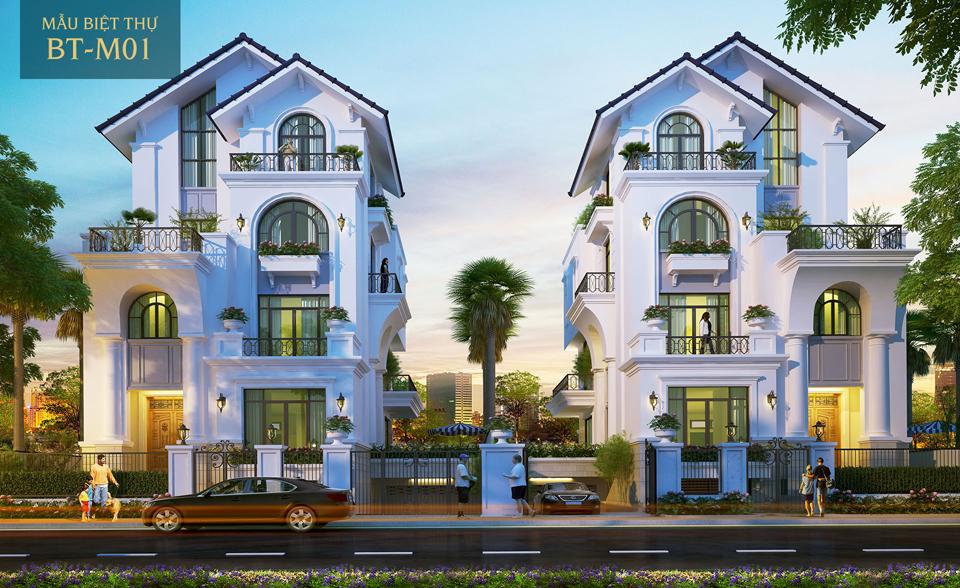 Biệt thự dự án Saigonmystery villas quận 2