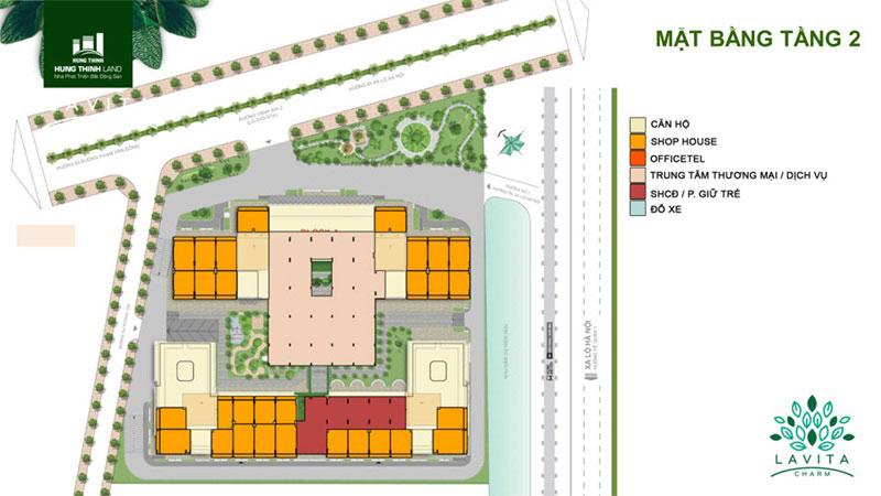 Dự án căn hộ Lavita Charm thủ đức tầng 2