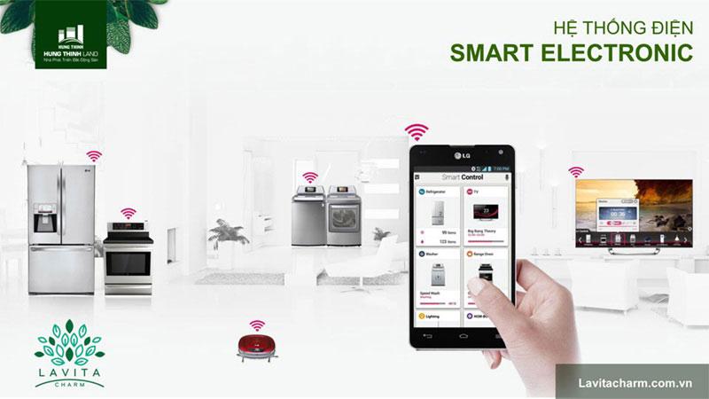 Thiết bị Smart home tại căn hộ lavita charm thủ đức