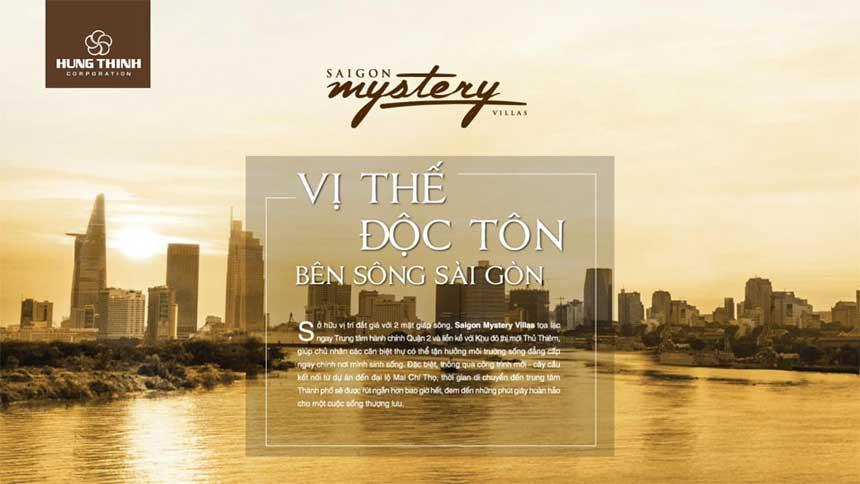 Bức tranh dự án Saigon Mystery villas quận 2