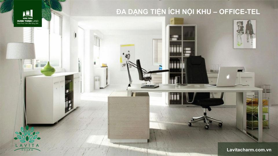 Mô hình Office tel lavita Charm thủ đức