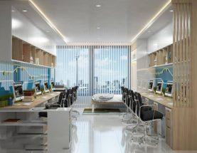 Mẫu Mô hình căn hộ Officetel moonlight boulevard
