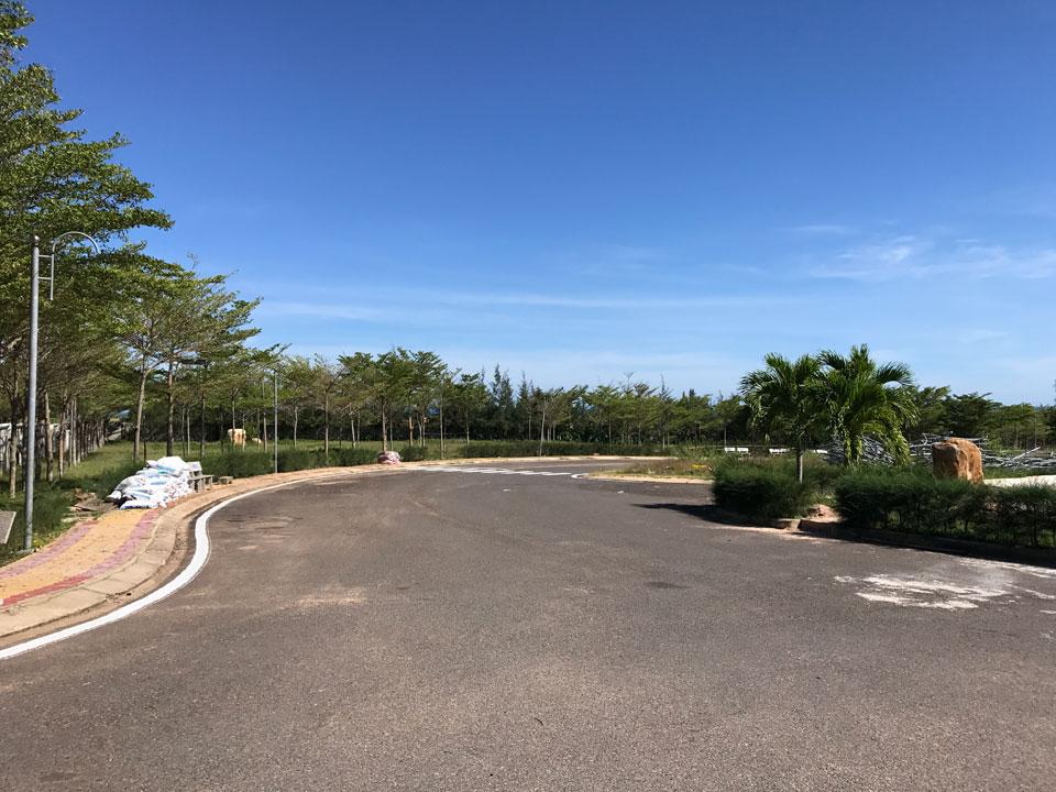 Hạ tầng hoàn thiện dự án Sentosa Villa Mũi Né