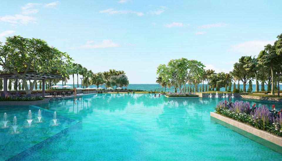 Hộ bơi đạt chuẩn 5 sao tại Sentosa Villas