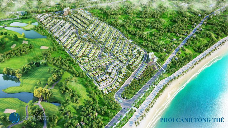 Đất nền dự án Sentosa Villa Mũi Né