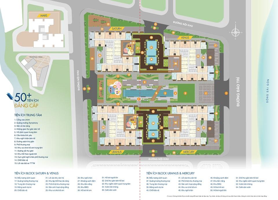 Tiện ích căn hộ Q7 Saigon Riverside