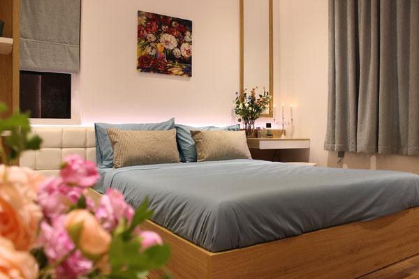 Phòng ngủ căn hộ Florita garden quận 7