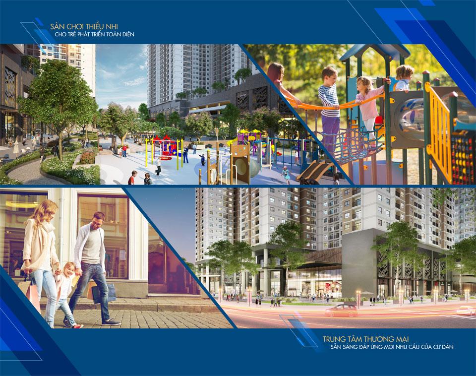 Sân Chơi Trẻ Em tại căn hộ Q7 Saigon Riverside