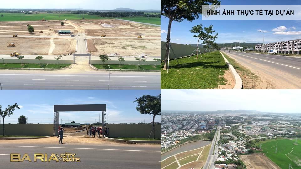 Hình ảnh thực tế Bà Ria City Gate