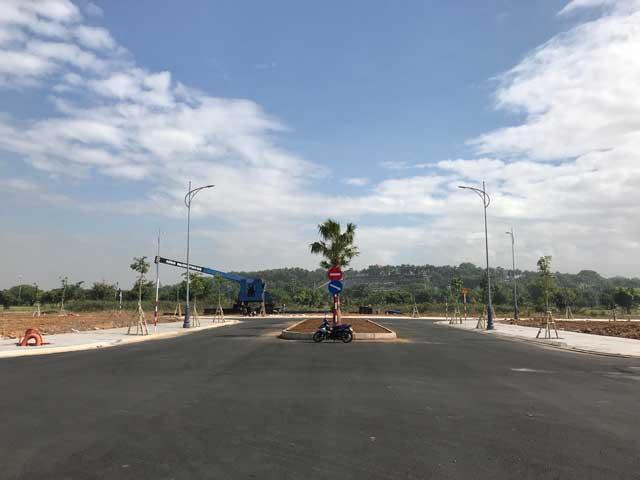 Tiến độ thi công Biên Hòa New City Bàn giao nền
