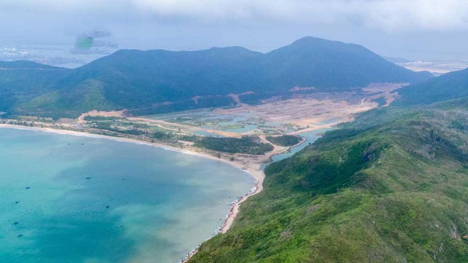 Hạ tầng thi công tại Hải Giang Bay Merry Land
