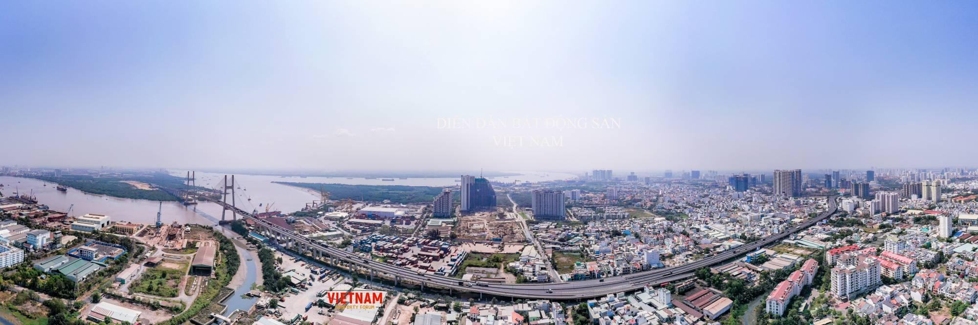 Đào Trí hiện nay được gọi là cung đường tỷ đô vì có nhiều dự án lớn đang triển khai