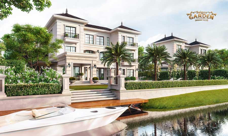 Saigon garden riverside quận 9 mẫu thiết kế