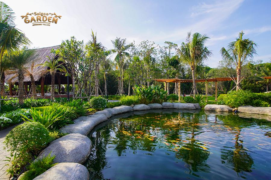 hình ảnh thức tế tại Saigon garden quận 9