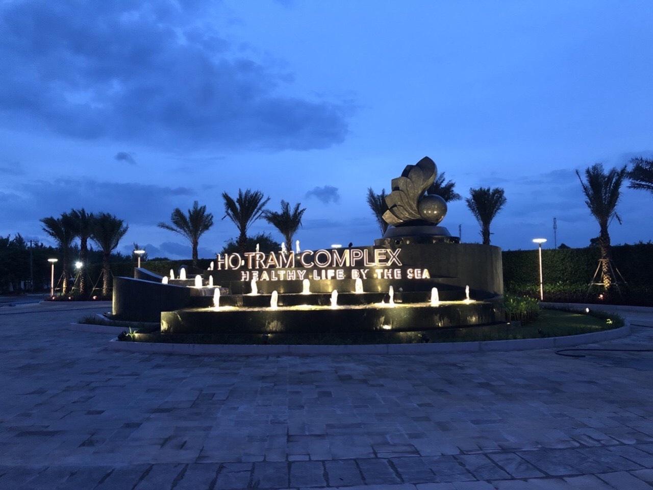 tiến độ xây dựng dự án Hồ Tràm Complex