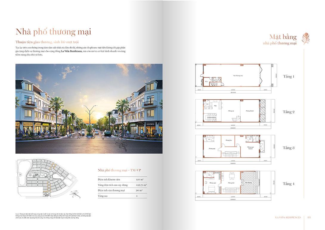 Thiết Kế Shophouse Lavida Residences