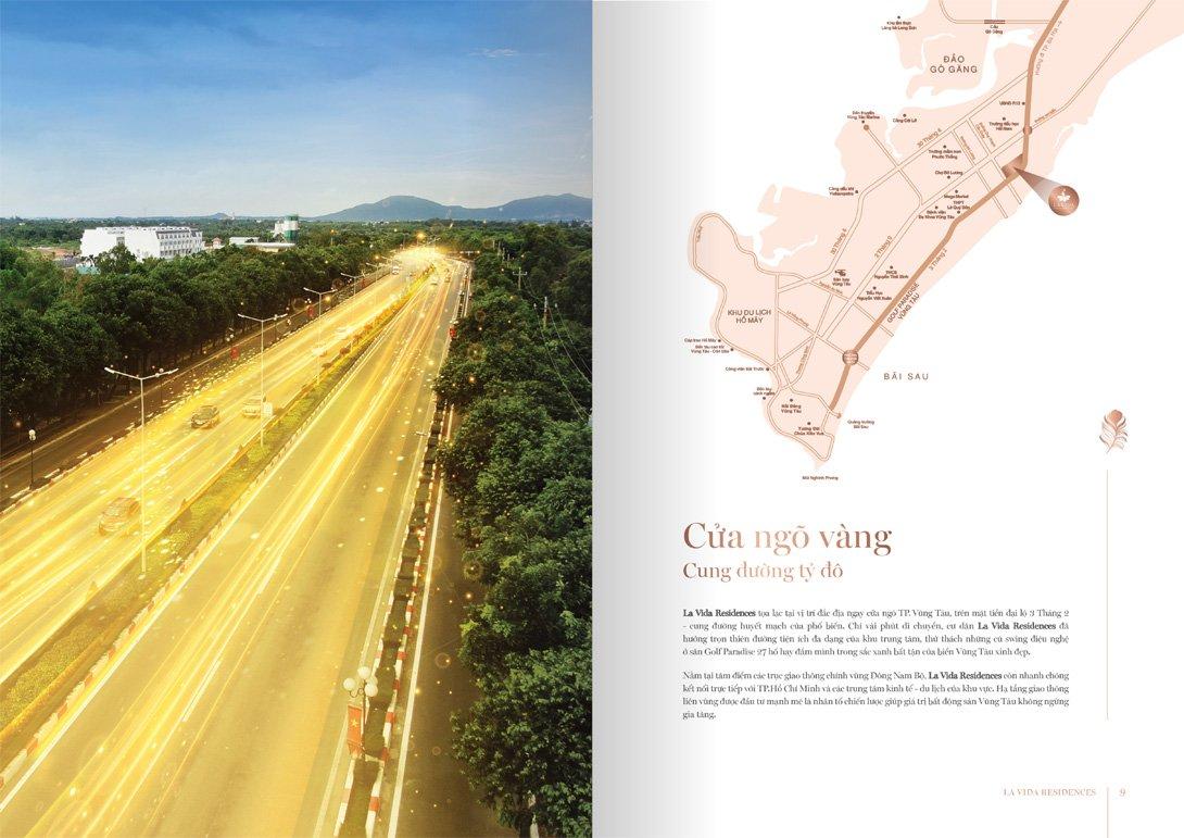 Vị trí dự án Lavida Residences Vũng Tàu