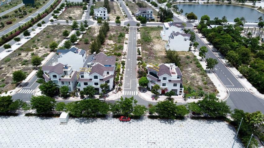 hình ảnh thực tế khu đô thị golden bay hoạt động